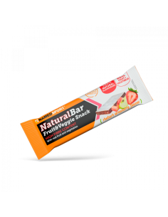 Barretta proteica NamedSport NaturalBar Rhubarb Strawberry - 32g